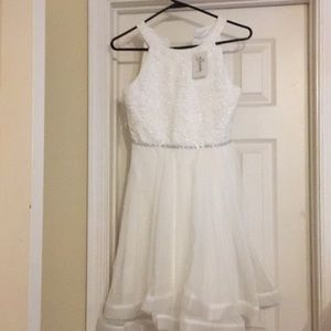 Speechless Kids White Gown - Size 14